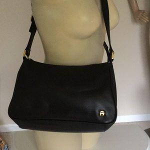 Etienne Aigner Black Leather purse NEW